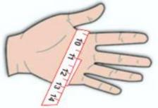измерить руку